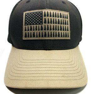 Columbia American Flag Hat Size Large/ XL Hat
